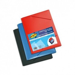 CARPETA FLEXIBLE CON GOMAS...