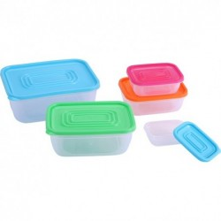 SET 5 TUPPERWARE...